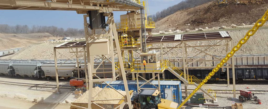 Pattison Sand Company Aggregate Loading Conveyor
