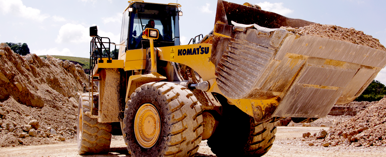 Pattison Material Handling heavy equipment