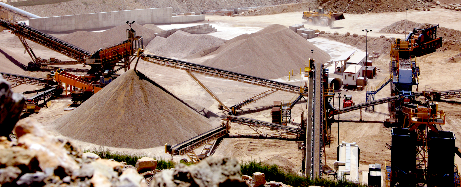 Pattison Crushing plant overview