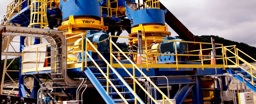 State of the art crushing plant