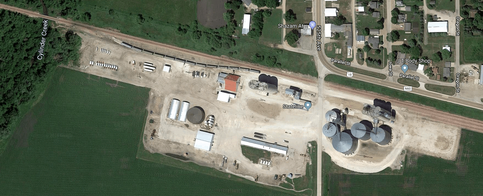 Centerville IA – Pattison Aggregates Local Transload