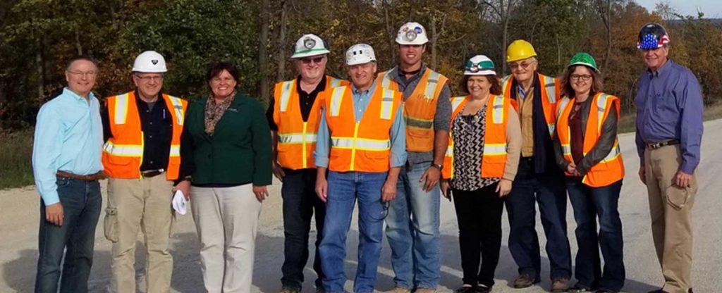 Congressman Rod Blum Visits Pattison Sand Company