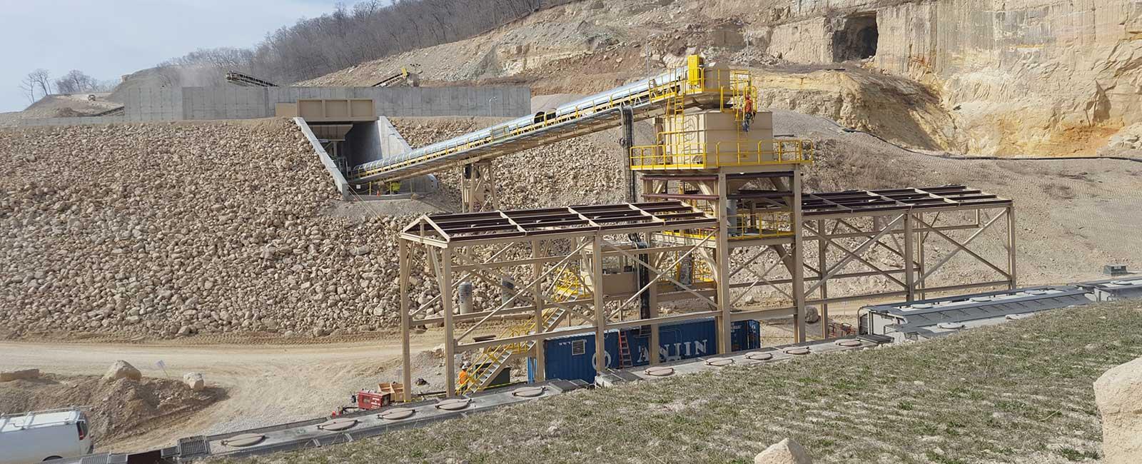 Pattison Sand Company Aggregate Loading Conveyor