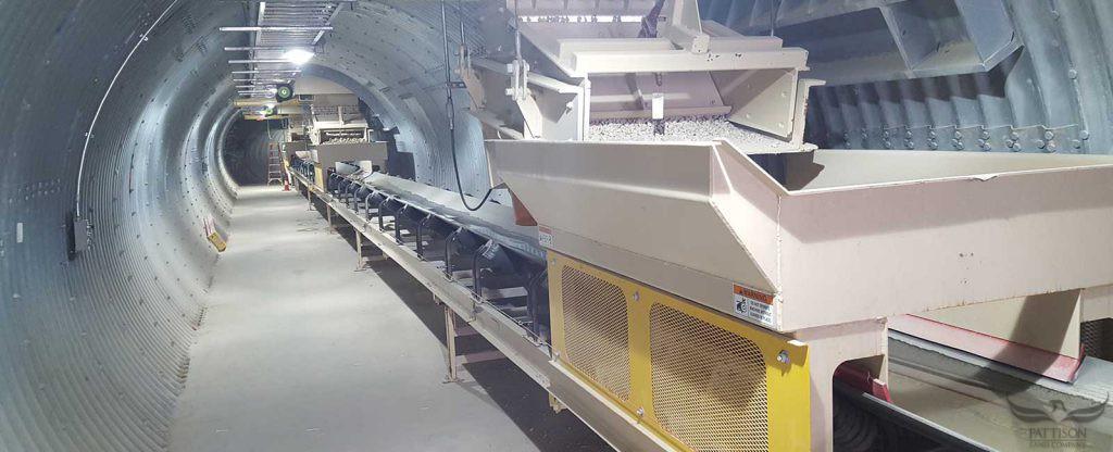 Pattison Aggregate loading Tunnel