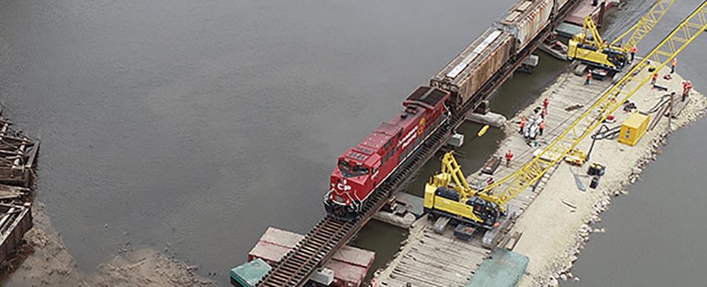After huge bridge washout, Turkey river rebuilds after major bridge washout