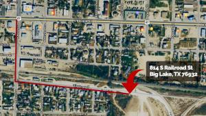 BogLake, TX Driver's Ingress Route
